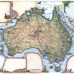 How many Australian Animals can you find on our Map Journal?