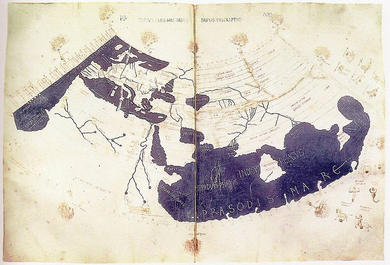 Ptolemy's World Map 150AD
