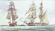 447px-HMS_Black_Joke_(1827)_and_prizes