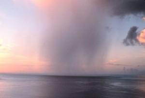 A squall of rain