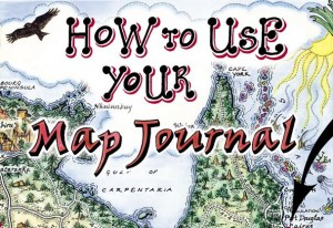 How to Use your Journey Jottings Map Journal