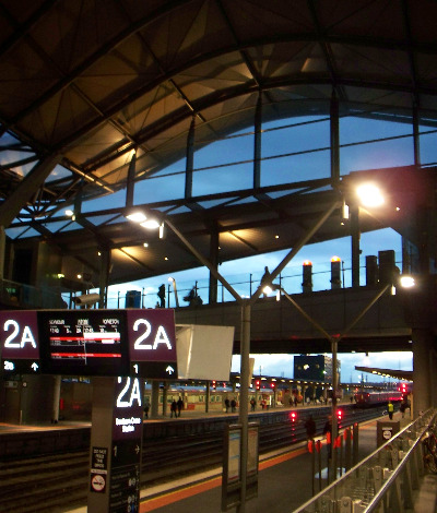 Spencer Street Railway Station melbourne