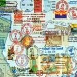 Post Office Stamp Map