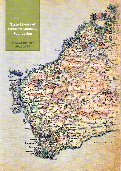 Western Australia pictorial map