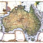 Australia Postcard Jigsaw puzzle