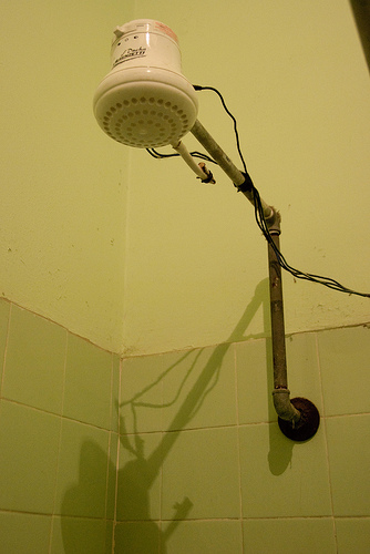 Electric Shower Head, South America