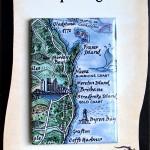 Fraser Island to Byron Bay Map Magnet Australia