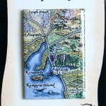 Adelaide Map Magnet on backing card