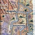 Birdsville Track Map Australia Magnet