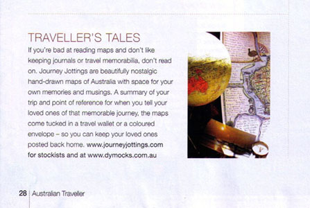 Australian Traveller - Journey Jottings Article