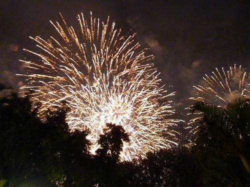 Fireworks at Riverfire, Brisbane