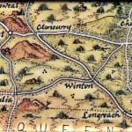 Australia Map Magnet Waltzing Matilda Winton