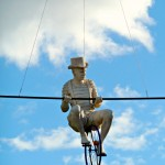 Man on a Tight Wire