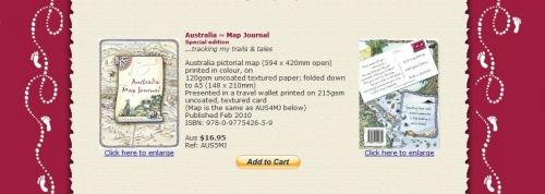 Australia Map Journal