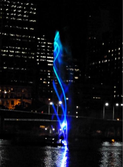 Brisbane Laser Light Show September 2011