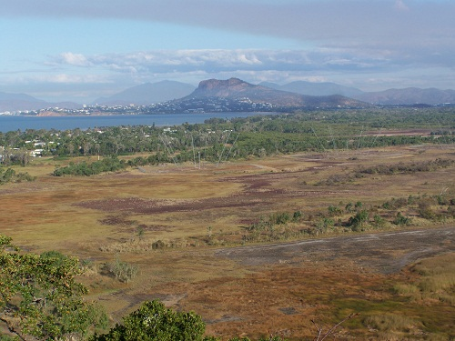 Castle Hill & Townsville from Cape Pallarenda