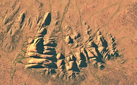 Kata Tjuta from space