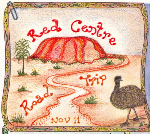Red Centre road trip