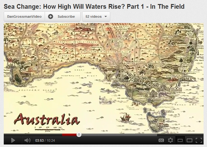 Australia pictorial map