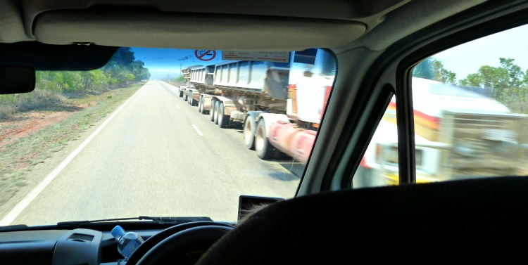 Image: road train