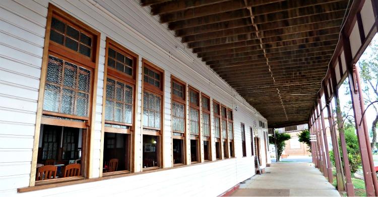 Malanda Hotel windows
