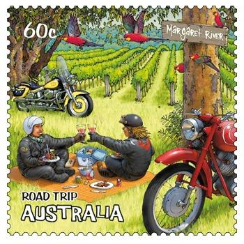 Australia Road Trip Stamp