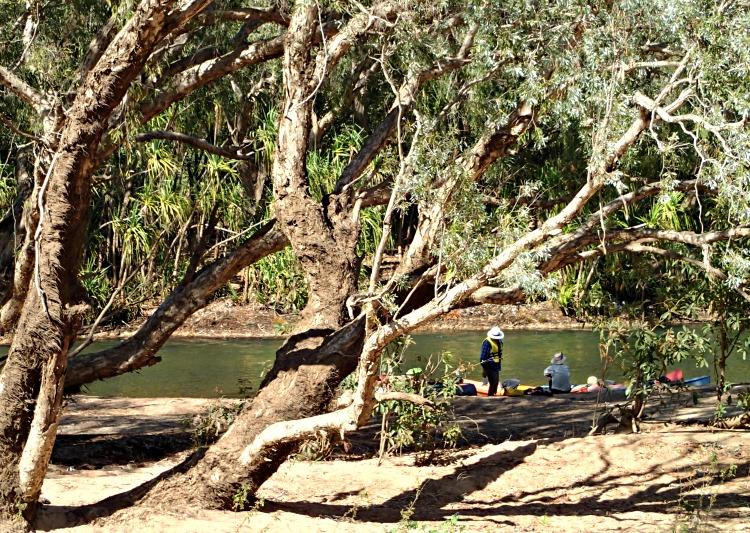 katherine river 3 day kayak trip