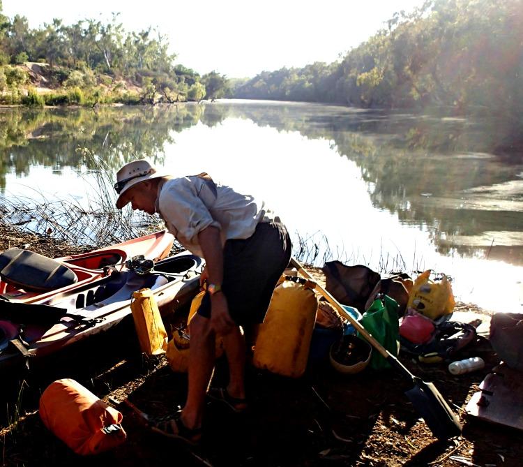 kayaking katherine river