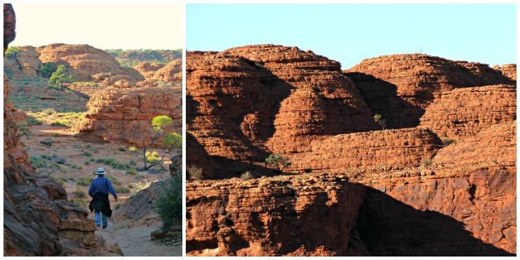 Bee-Hive rock formations at Kings Canyon
