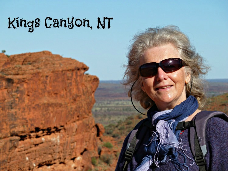 Linda at Kings Canyon
