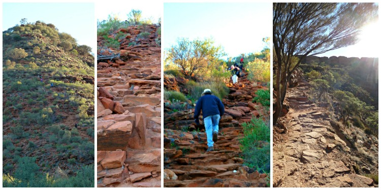 Stairway to Kings Canyon Rim Walk