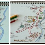 The Laid Back Travel Journal Layout - How to Story-Map Your Day