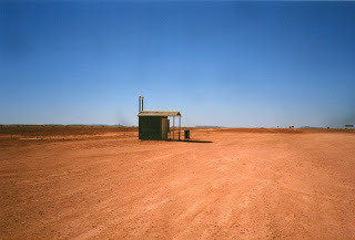 Australia toilet out in the middle of nowhere