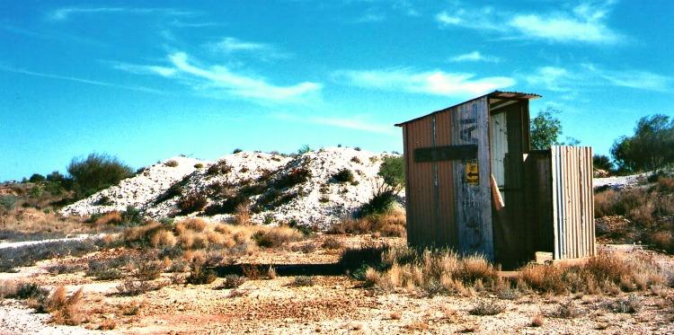 Australian Outback Toilet