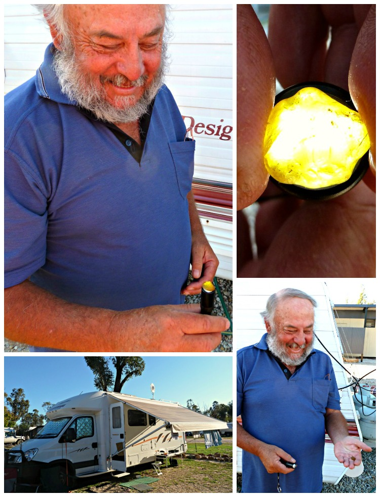 Finding a yellow sapphire in the queensland gemfields