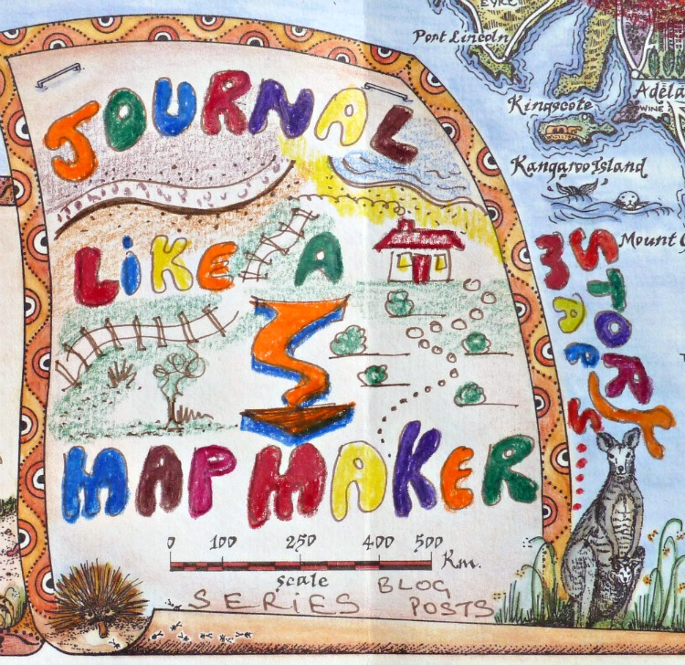 Journaling like a mapmaker series