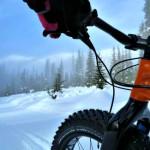 Fat tire biking at Whitewater