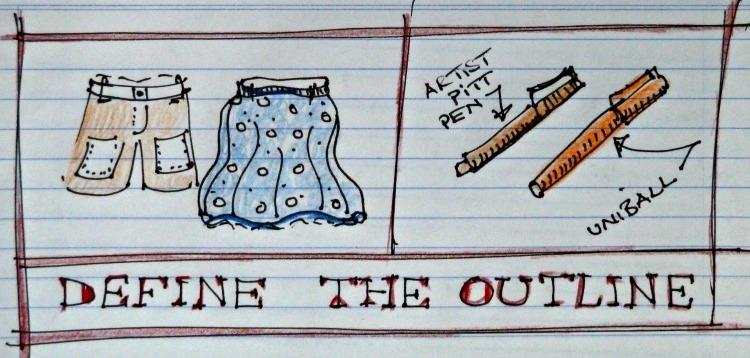 Travel Journal pens for journalling