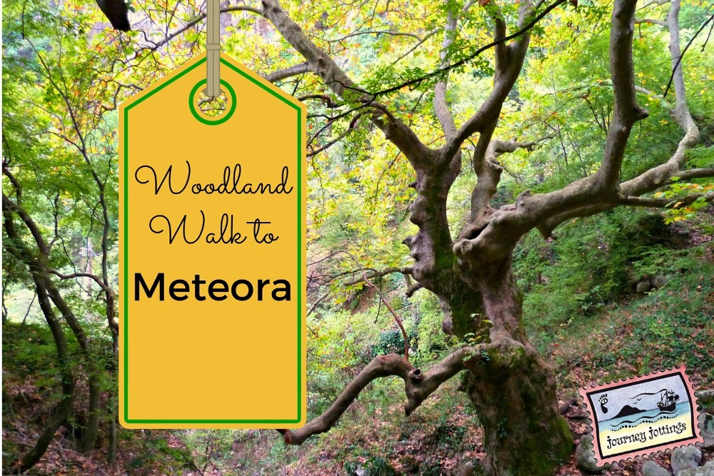 Walk through the woods to Meteora