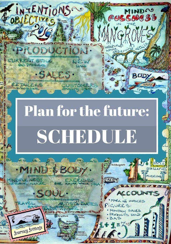 How to Plan for the Future - SCHEDULE