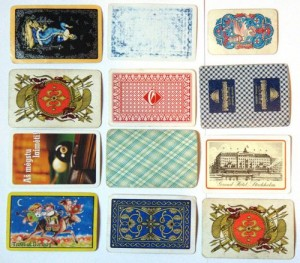 Decorative Playing card backs