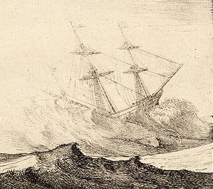 800px-Wenceslas_Hollar_-_Three_ships_in_a_rough_sea