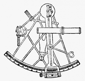 Sextant drawing