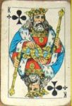 King Clubs Playing Card