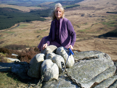 Atop the Clints of Dromore with 'Hush'