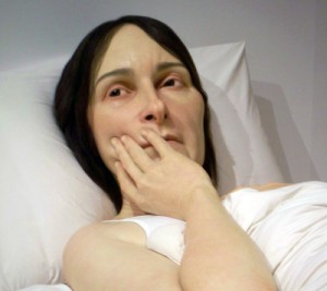 In Bed Ron Mueck