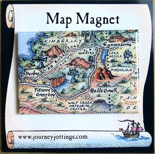 Map Magnet, Kimberleys, Western Australia