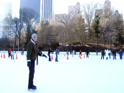 Skating in New York City