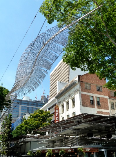 Feather street sculpture, Brisbane