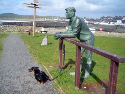 The Man Port William Scotland